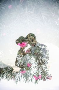 50 Romantic Wedding Double Exposure Photos Ideas 53