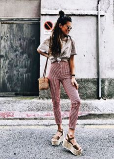 50 Ways to Wear Wedges for Spring and Summer Ideas 10
