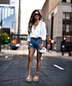 50 Ways to Wear Wedges for Spring and Summer Ideas 18