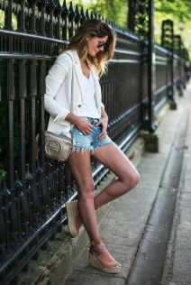 50 Ways to Wear Wedges for Spring and Summer Ideas 20
