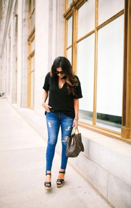 50 Ways to Wear Wedges for Spring and Summer Ideas 26