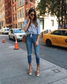 50 Ways to Wear Wedges for Spring and Summer Ideas 27