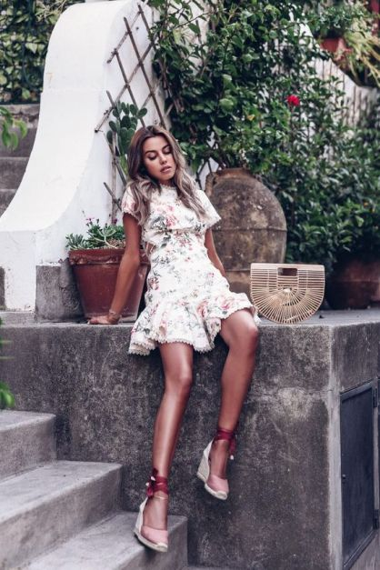 50 Ways to Wear Wedges for Spring and Summer Ideas 41