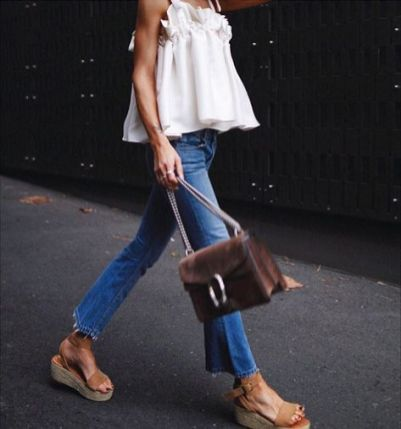 50 Ways to Wear Wedges for Spring and Summer Ideas 6