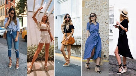 50 Ways to Wear Wedges for Spring and Summer Ideas