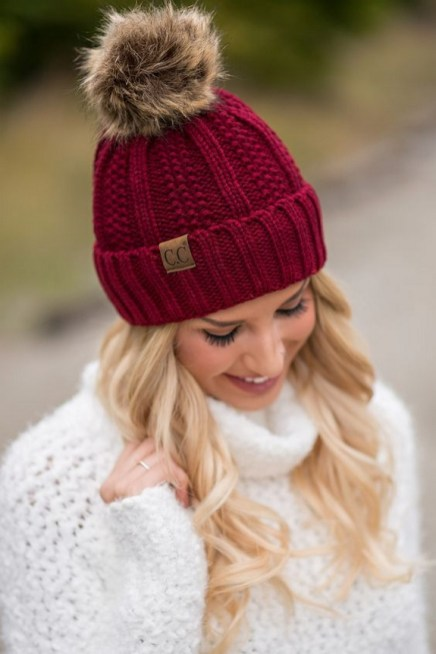 30 Best Warm Winter Hats for Women12