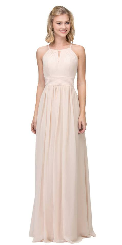 30 Inspiration for a sleeveless long dress outfit to appear feminine and trendy 02