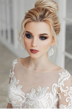 35 Inspirations Makeup Wedding For Blue Eyes 01