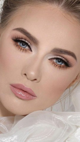 35 Inspirations Makeup Wedding For Blue Eyes 06