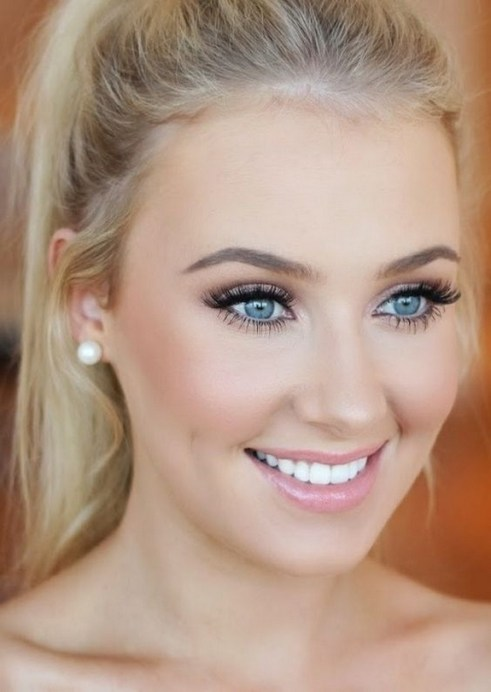 35 Inspirations Makeup Wedding For Blue Eyes 12