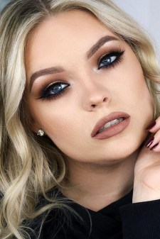 35 Inspirations Makeup Wedding For Blue Eyes 22