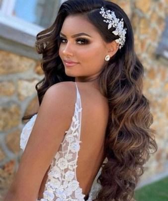 40 How Elegant Wedding Hair Accessories Ideas 21