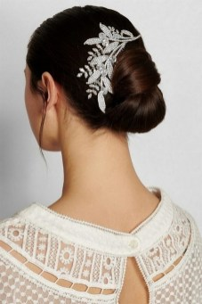 40 How Elegant Wedding Hair Accessories Ideas 38