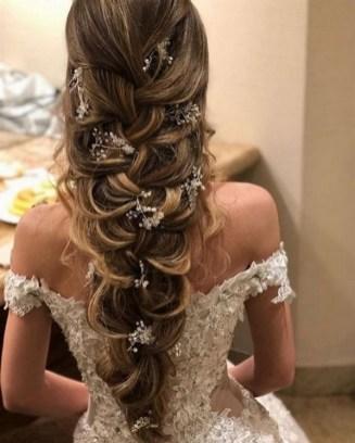 40 How Elegant Wedding Hair Accessories Ideas 39
