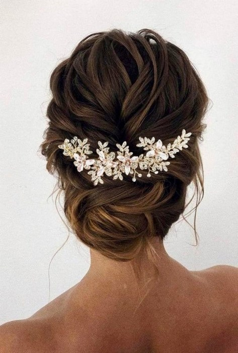 40 How Elegant Wedding Hair Accessories Ideas 41