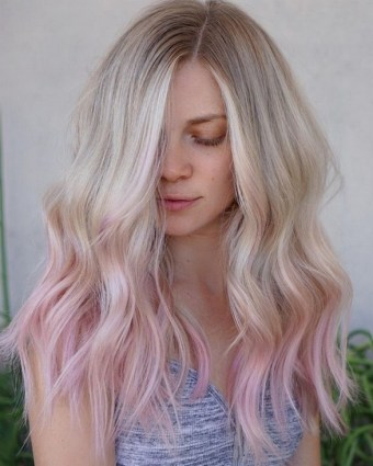 50 Best Peek A Boo Hair Color Ideas 07