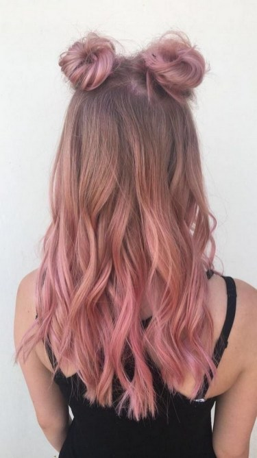 50 Best Peek A Boo Hair Color Ideas 14