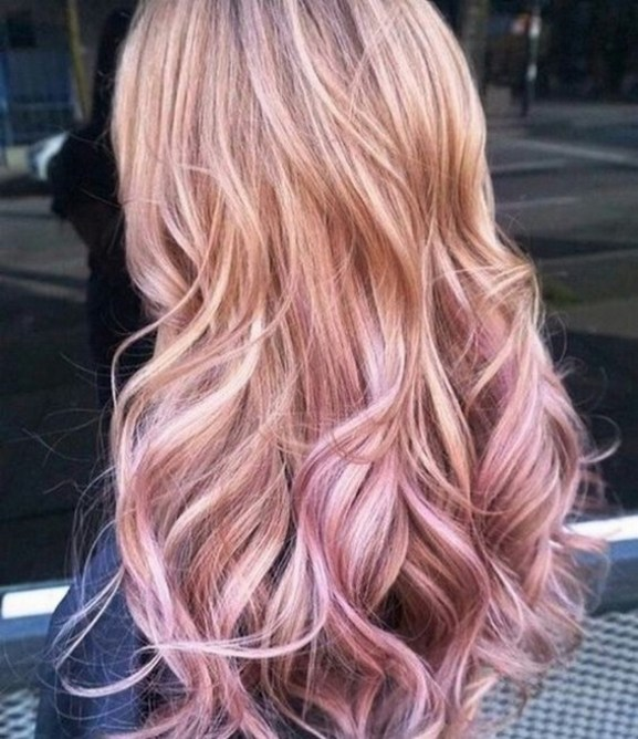 50 Best Peek A Boo Hair Color Ideas 15