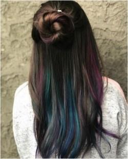 50 Best Peek A Boo Hair Color Ideas 22
