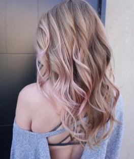 50 Best Peek A Boo Hair Color Ideas 25