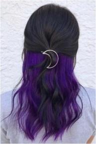50 Best Peek A Boo Hair Color Ideas 51