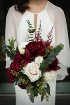 Best Romantic Peony Wedding Bouquet Inspiration 16