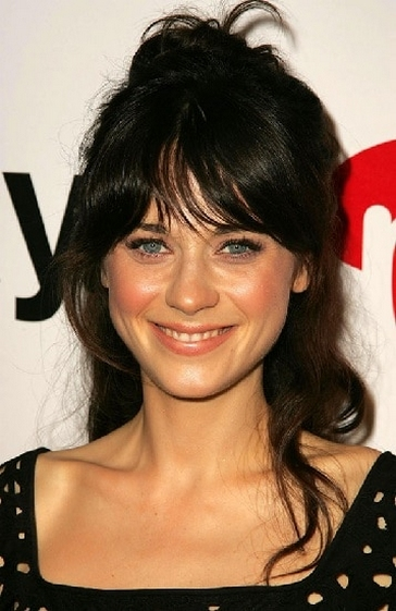 Curtain Bangs Hair Styles Ideas 17