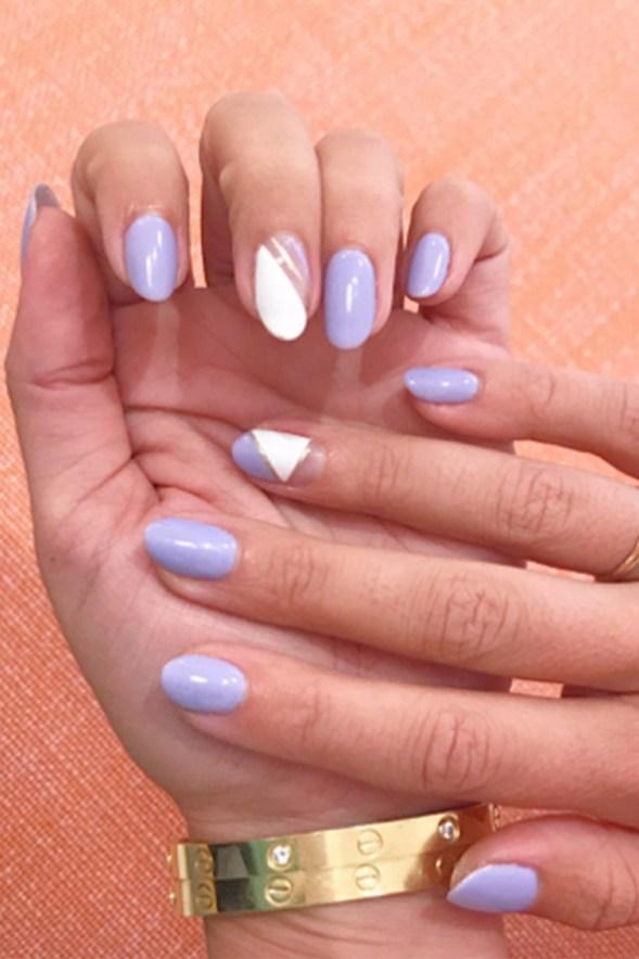 Inspiring Almond Shaped Nail for Girls 02
