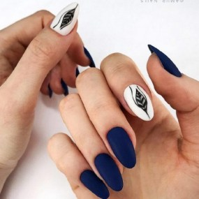 Inspiring Almond Shaped Nail for Girls 07