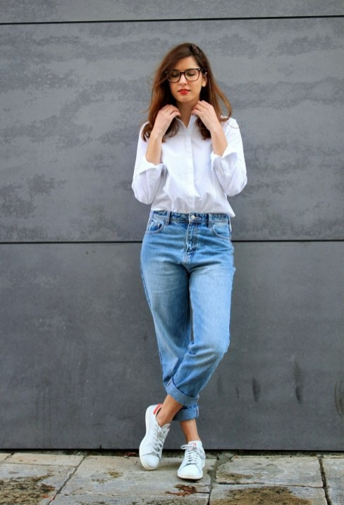 Mom Jeans Outfits Ideas for 2021 40