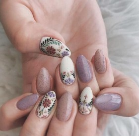 Spring Nail art Design and Colors Ideas For 2021 04
