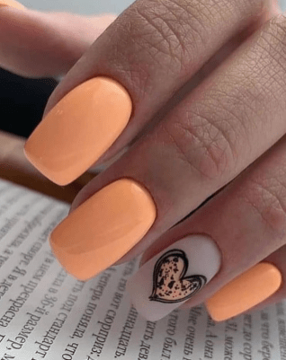 Spring Nail art Design and Colors Ideas For 2021 08