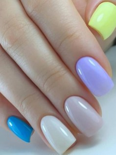 Spring Nail art Design and Colors Ideas For 2021 10