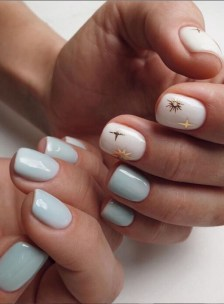 Spring Nail art Design and Colors Ideas For 2021 23
