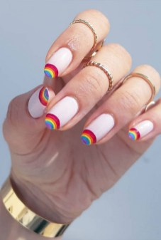Spring Nail art Design and Colors Ideas For 2021 40