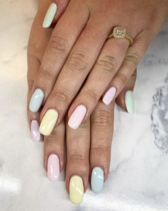 Spring Nail art Design and Colors Ideas For 2021 49