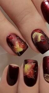 20 Adorable Fall Nail Art Ideas 02