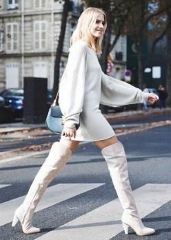 30 Stylish fall boots women outfit ideas 16