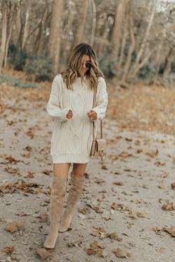 30 Stylish fall boots women outfit ideas 20
