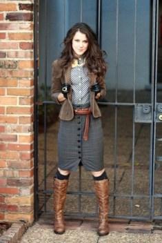 30 Stylish fall boots women outfit ideas 22