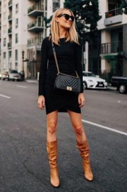 30 Stylish fall boots women outfit ideas 26