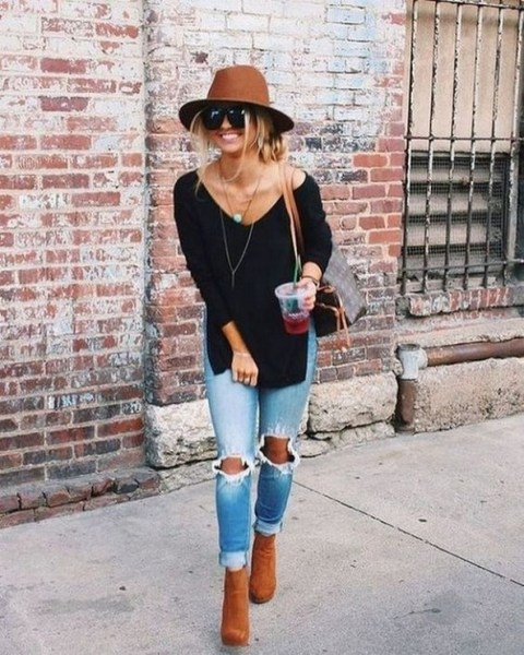 45 Fashionable Fall Outfits This Year 29