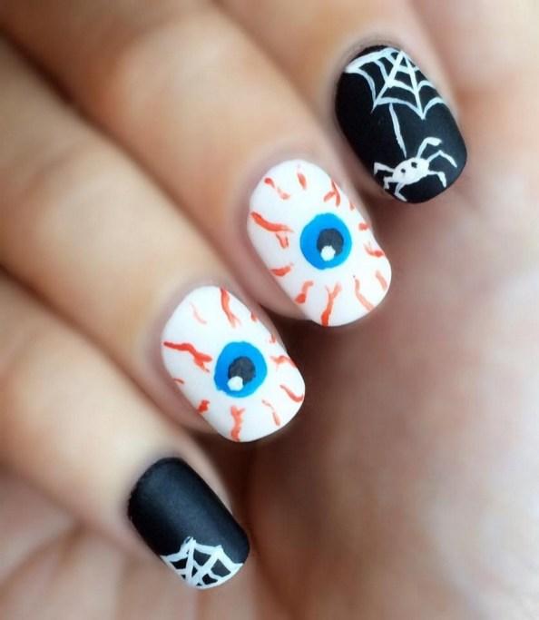 50 Cute Halloween Nail Art You Will Love 14