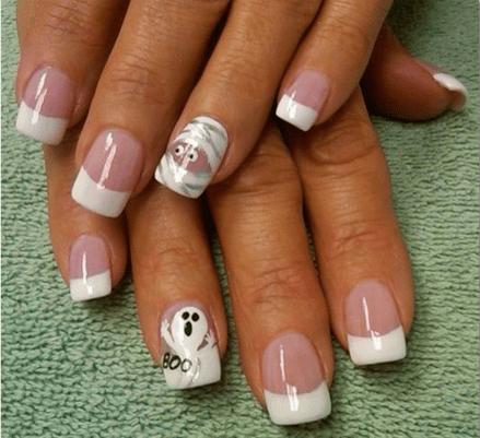 50 Cute Halloween Nail Art You Will Love 37