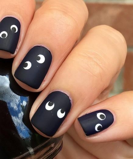 50 Cute Halloween Nail Art You Will Love 52