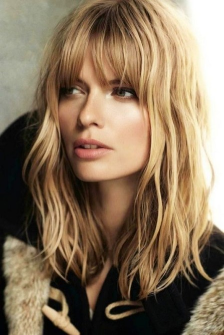 100 Ways to Look Younger with Stylish Bang Hairstyles 13