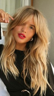 100 Ways to Look Younger with Stylish Bang Hairstyles 2