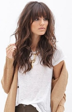 100 Ways to Look Younger with Stylish Bang Hairstyles 7