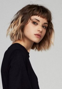 100 Ways to Look Younger with Stylish Bang Hairstyles 92