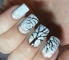 25 Fun Winter Nail Design Ideas 09